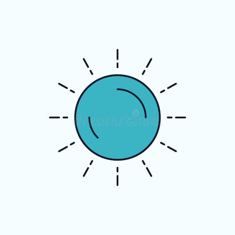 słońce, pogoda, zmierzch, wschód słońca, lata mieszkania ikona ziele?, kolor ilustracji