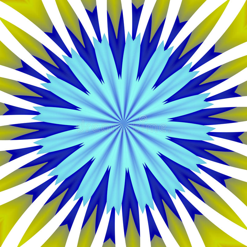 Słońce promienie lubią abstrakcjonistycznego tło ilustracja wektor