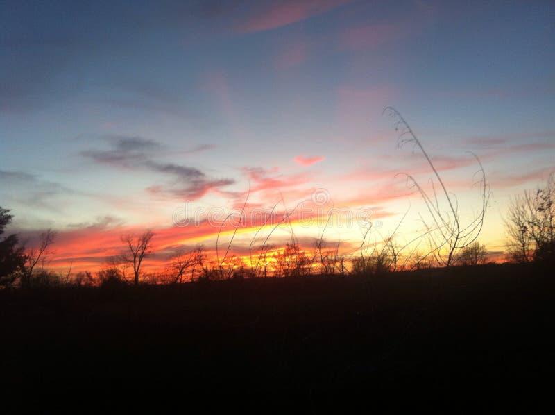 Słońce set, obrazy stock