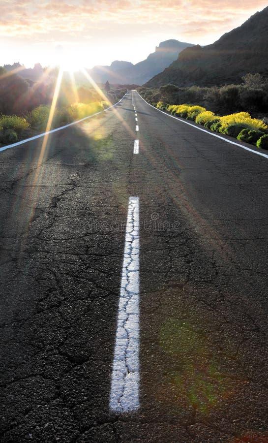 słońce sposób obraz royalty free