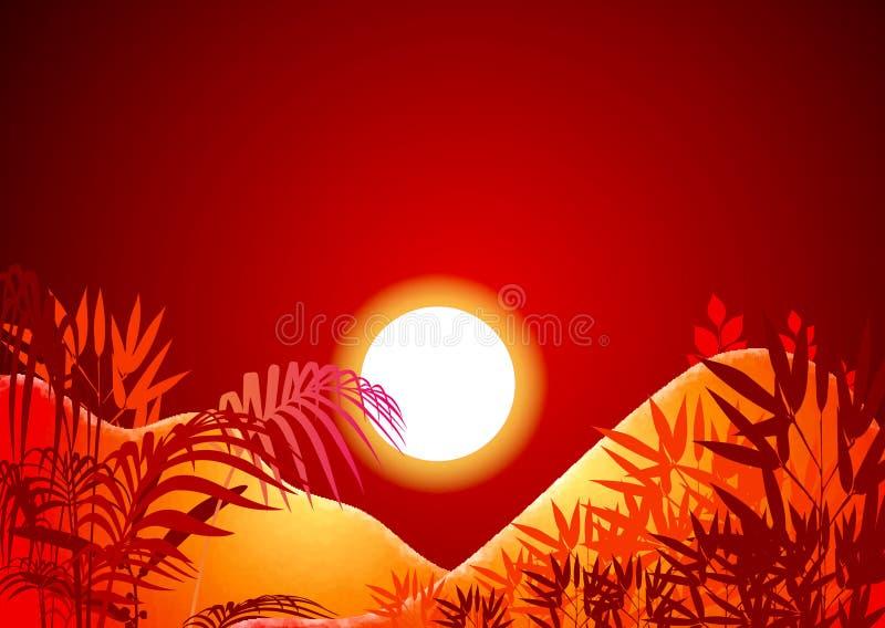 słońce tła royalty ilustracja