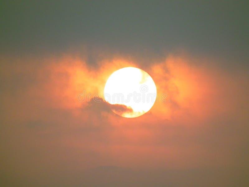 Słońce w ranku obrazy royalty free