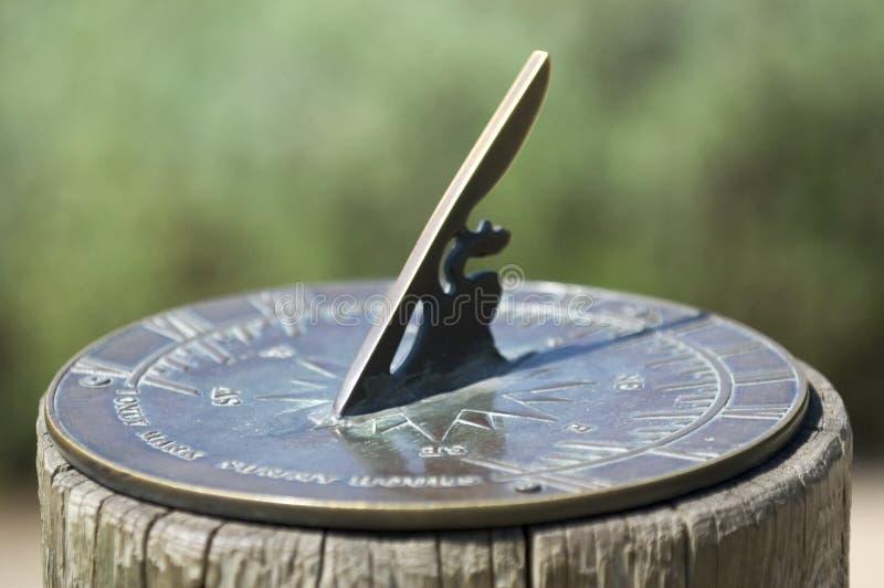 słońce zegara obraz stock