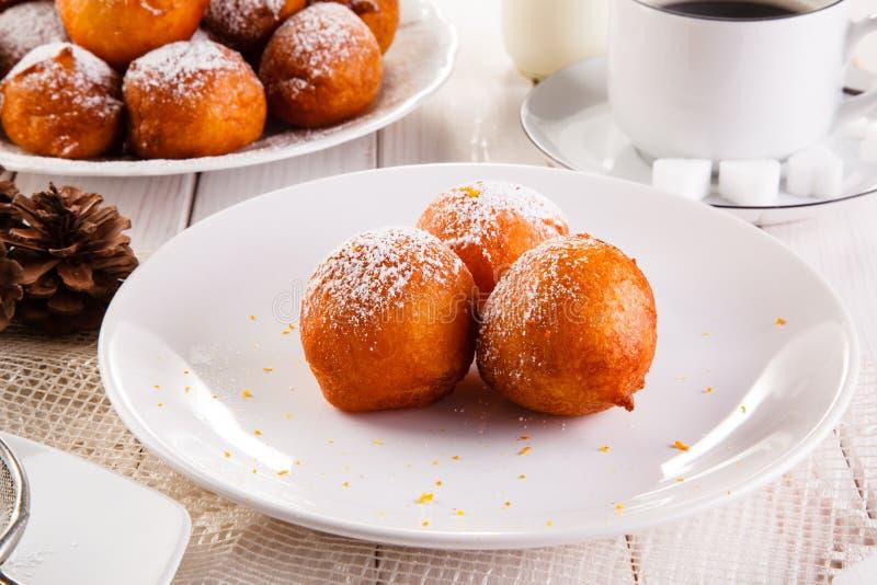 Słodcy mini donuts fotografia royalty free