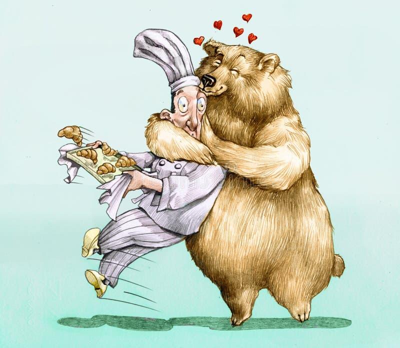 słodka miłość royalty ilustracja