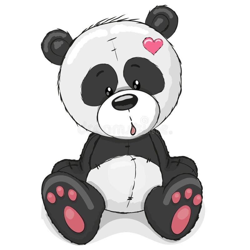 słodka panda ilustracja wektor
