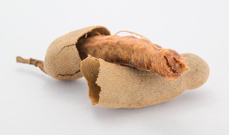 Słodka tamarynda dla jeść na białym tle obrazy stock