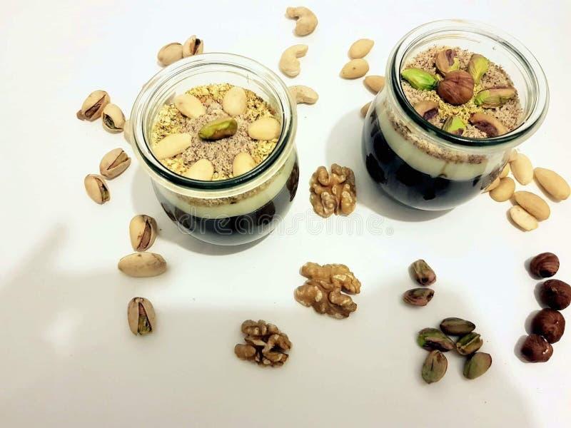Słodki deserowy zgougou zdjęcie stock