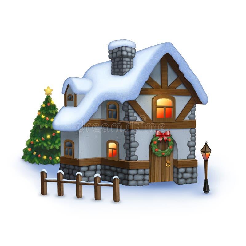 Słodki dom royalty ilustracja