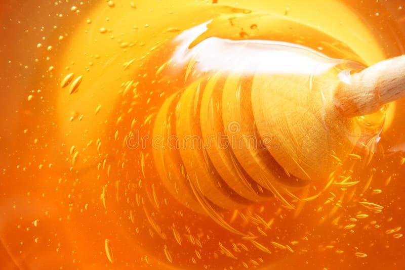 Słodki Miodowy tło zdjęcie stock