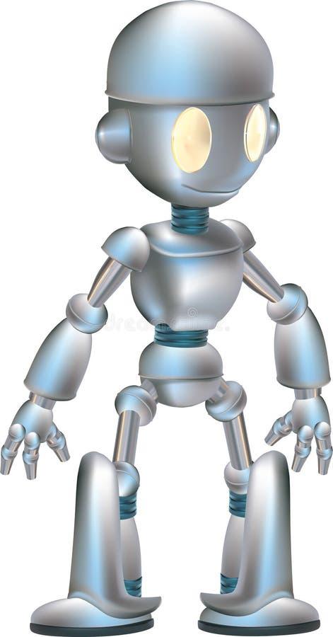 słodki robot ilustracja wektor
