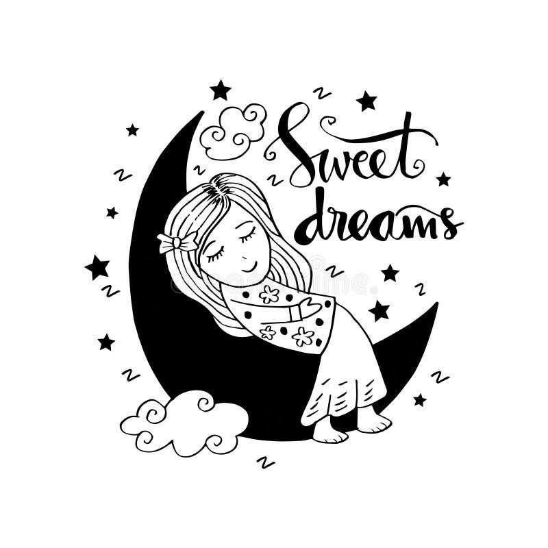 słodki sen ilustracji
