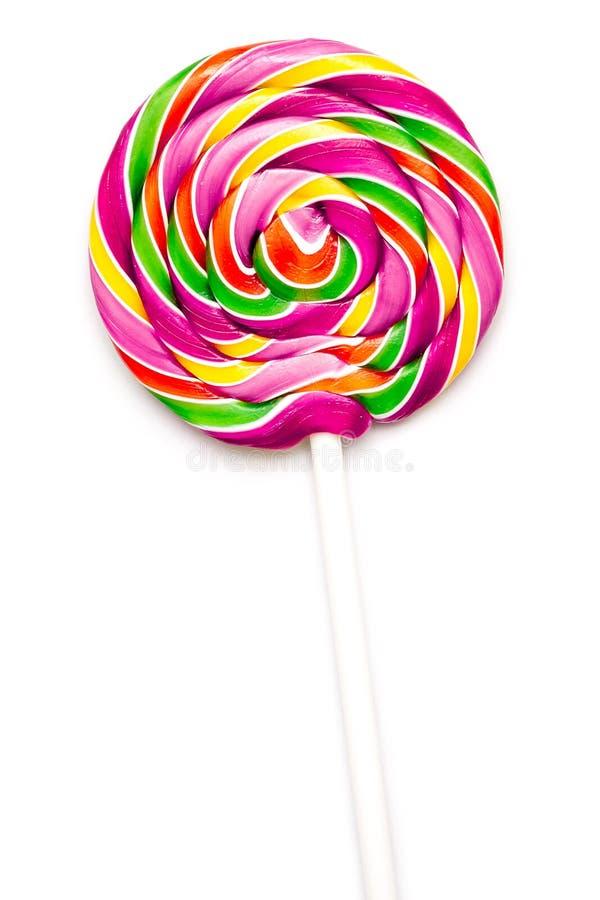 Słodki Wibrujący lizak fotografia stock