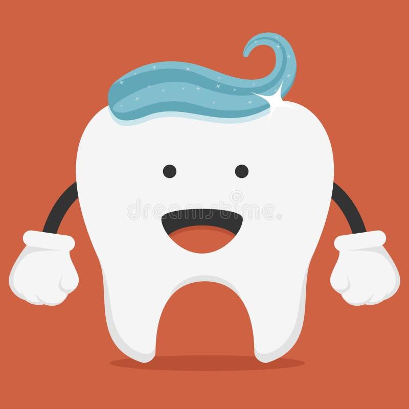 słodki ząb ilustracja wektor
