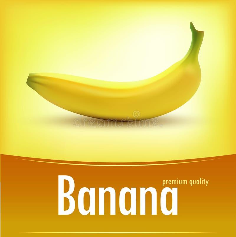 Słodkich świeżych żółtych bananów wektorowa ilustracja ilustracji