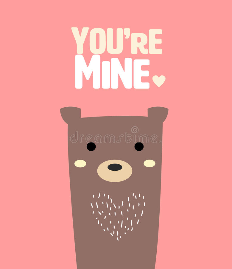 słodkie bear ilustracji