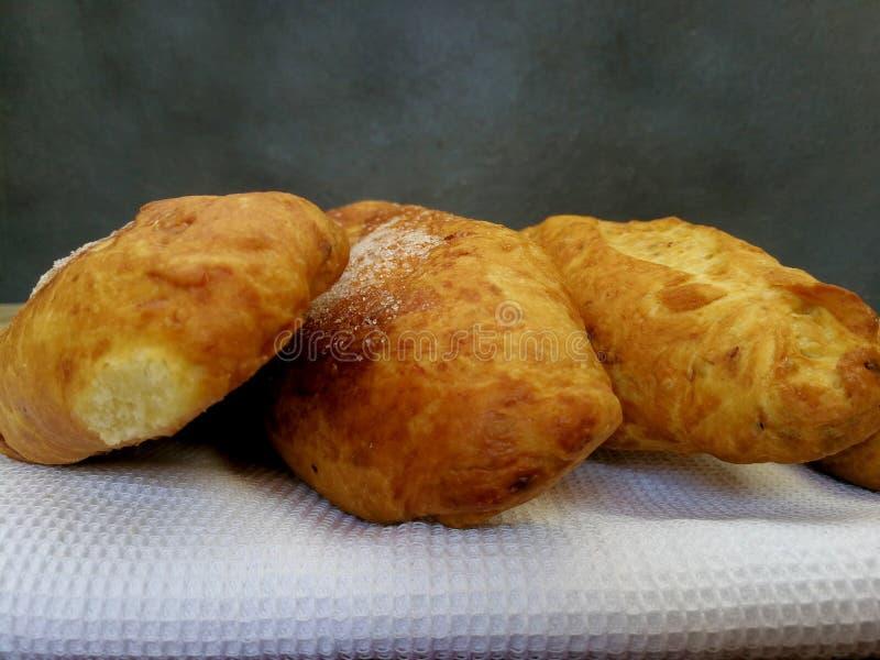 słodkie chlebowe rodzynki fotografia stock