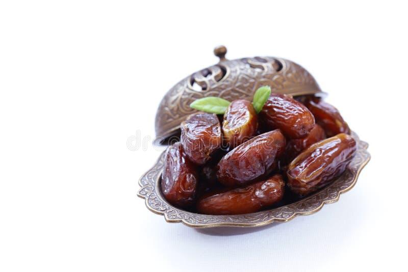 Słodkie daty, orientalna słodkość zdjęcie stock