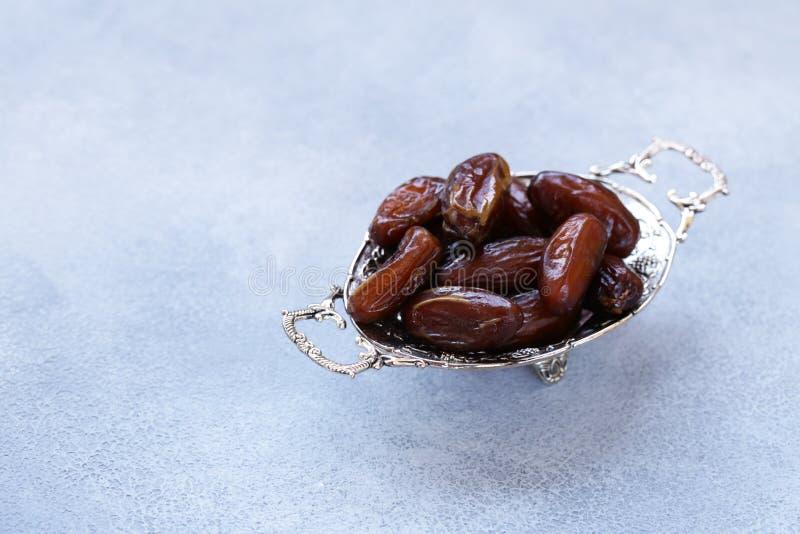 Słodkie daty, orientalna słodkość fotografia royalty free