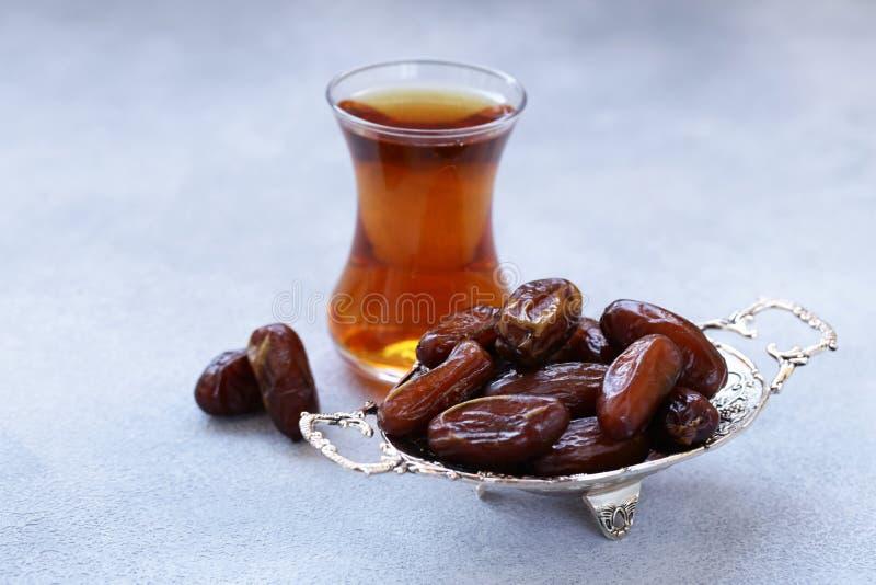 Słodkie daty, orientalna słodkość obraz stock