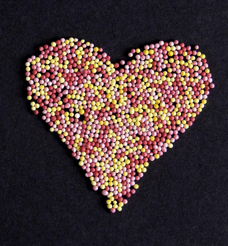 słodkie serce obrazy stock