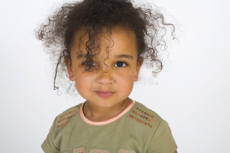 słodkie też curly zdjęcie stock