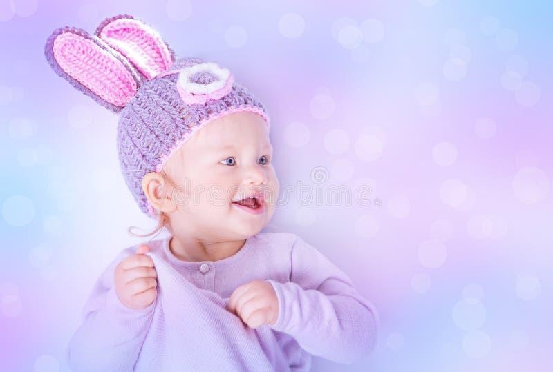 słodkie Wielkanoc królik zdjęcie royalty free
