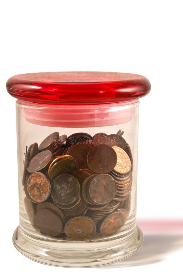 słojów centów obrazy stock