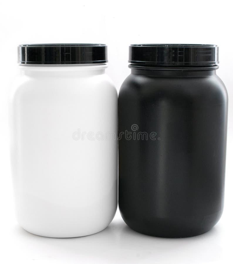Słoje dla sporta uzupełniają czarny i biały zdjęcia royalty free