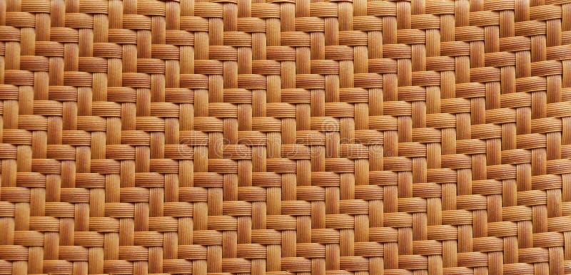 Słomy maty tekstura. zdjęcie stock