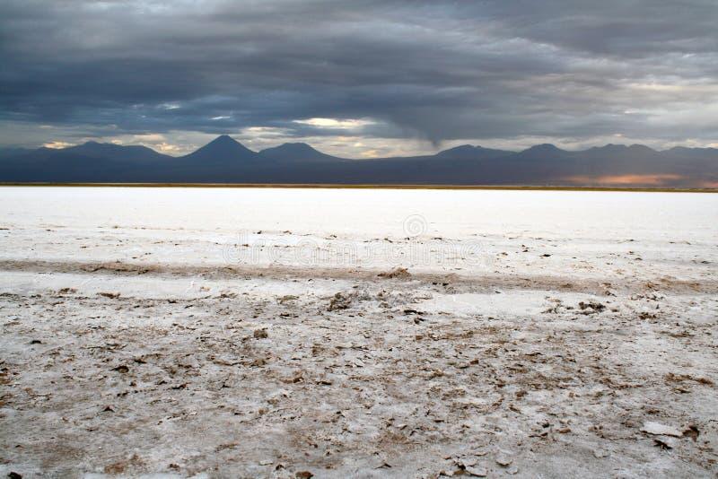 Słona pustynia, Atacama Chile, Marzec, - 2016 zdjęcie stock