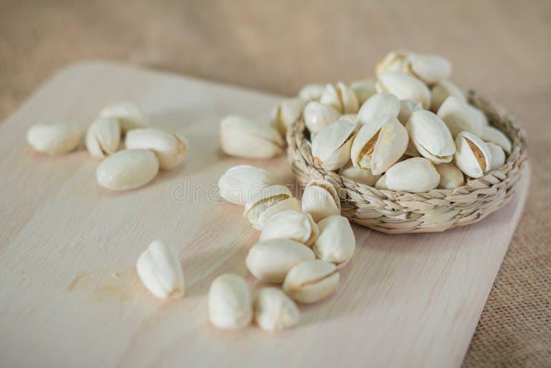 Słone pistacj dokrętki obrazy stock