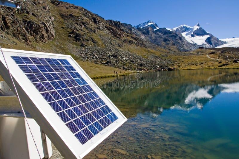 słoneczna alps technologia fotografia royalty free