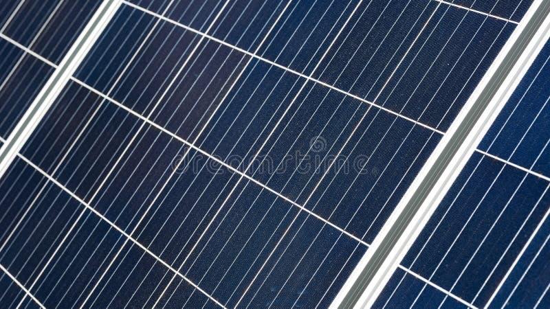 Słoneczna gorąca woda panelu komórki powierzchnia jako abstrakcjonistyczny tło fotografia royalty free