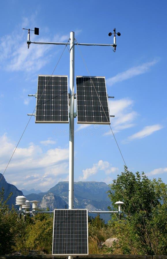 słoneczni góra włoscy panel zdjęcia royalty free
