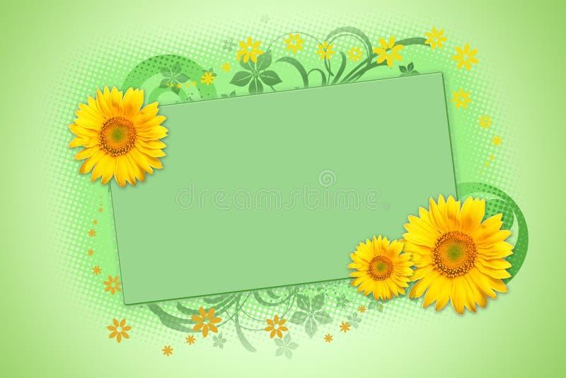 słoneczniki royalty ilustracja