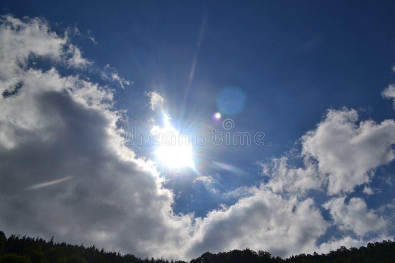 słoneczny dzień obraz royalty free