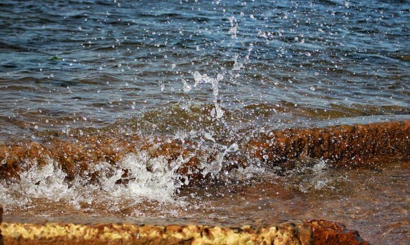 Słoneczny dzień w morzu bałtyckim zdjęcia royalty free