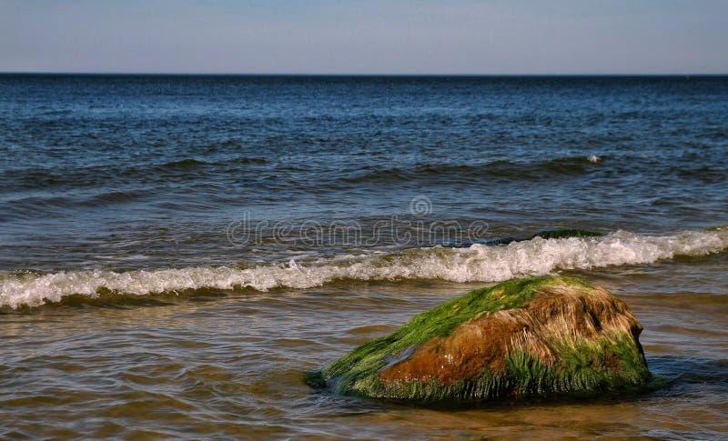Słoneczny dzień w morzu bałtyckim obraz royalty free
