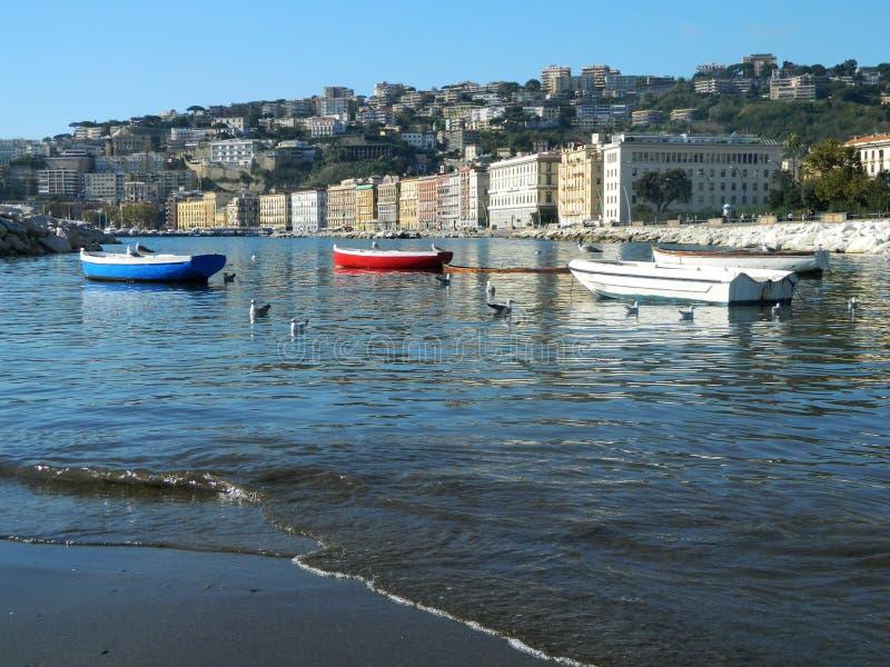 Słoneczny dzień w Naples obraz stock