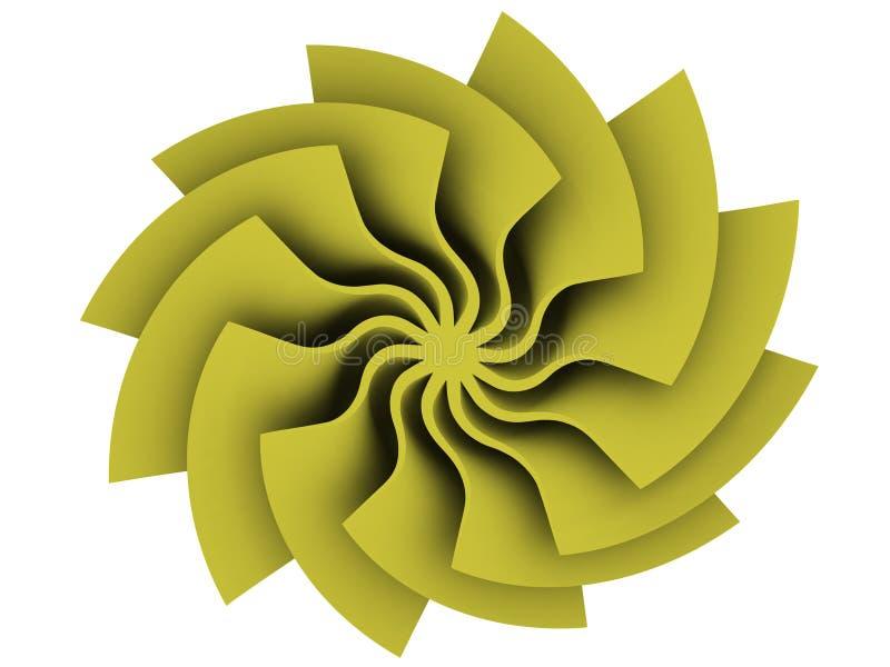 słoneczny odizolowane stylizowanego flary fotografia royalty free