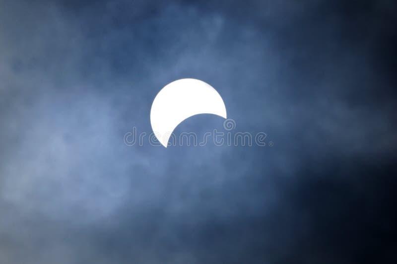 Słoneczny zaćmienie zdjęcia royalty free