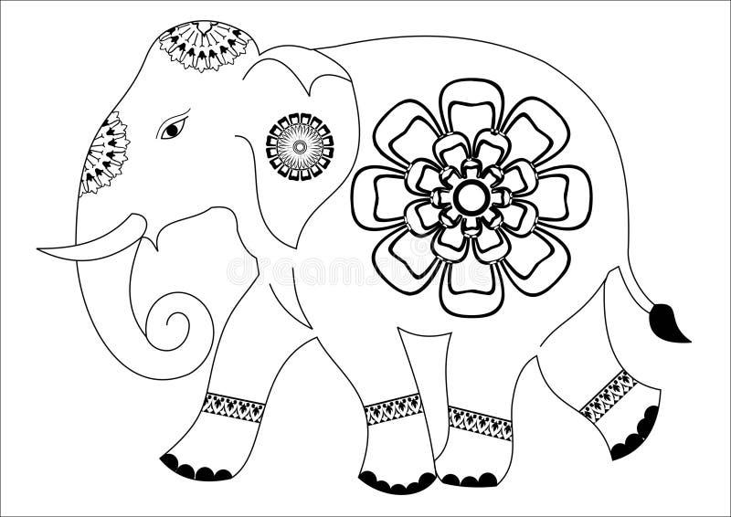 Słonia projekt zdjęcie stock