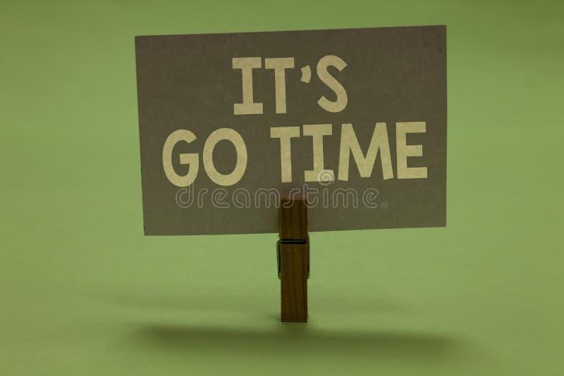 Słowa writing tekst Ja s jest Iść czas Biznesowy pojęcie dla A okresu zobowiązywać się wyznaczających zadania Przynosi mnie NA Cl obrazy stock