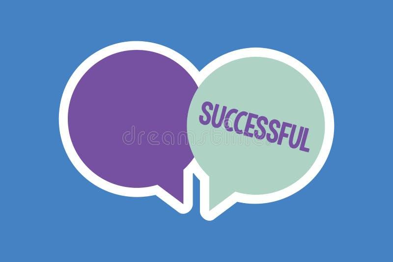 Słowa writing tekst Pomyślny Biznesowy pojęcie dla Osiągać pragnącego cel rezultat Dokonującego sława status społecznego lub ilustracji