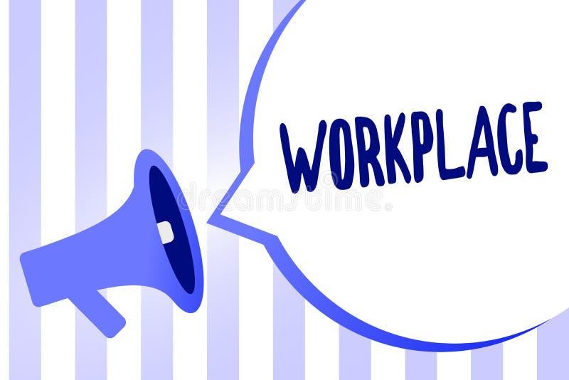 Słowa writing teksta miejsce pracy Biznesowy pojęcie dla terenu dokąd ty możesz znajdować ruchliwie ludzi robi ich akcydensowych  ilustracji