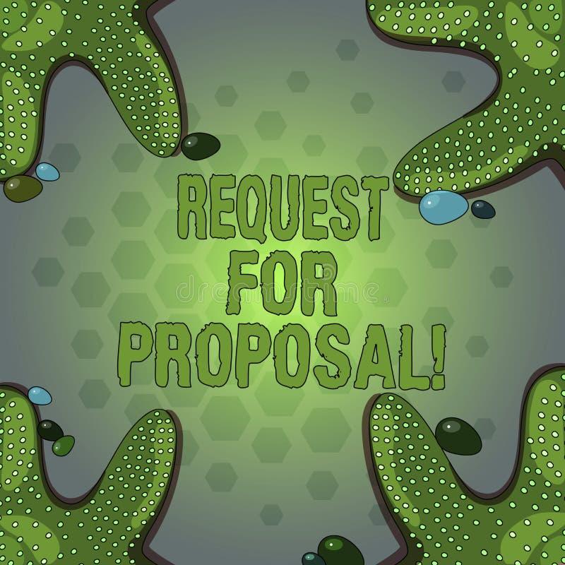 Słowa writing teksta prośba Dla propozyci Biznesowy pojęcie dla dokumentu który zabiegać o coś propozycję zrobił przez licytować ilustracji