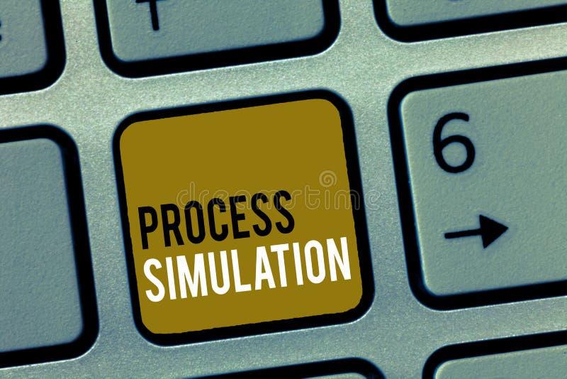 Słowa writing teksta Proces symulacja Biznesowy pojęcie dla Technicznego przedstawicielstwa Zmyślał naukę system obrazy stock