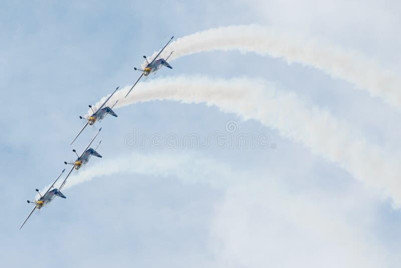Słowacki zawody międzynarodowi powietrza Fest 2014 zdjęcie royalty free