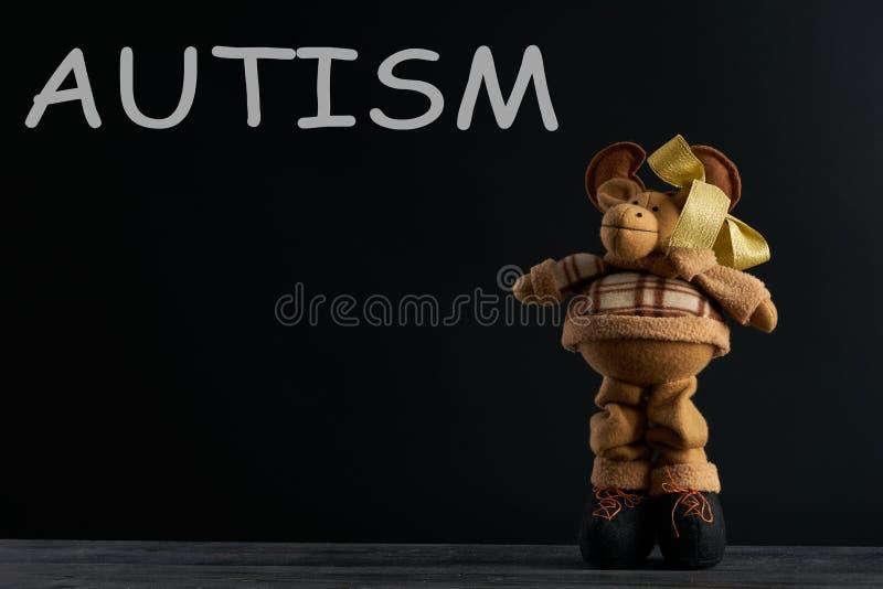 Słowo autyzm obrazy stock